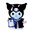 "Sanrio Kuromi 12"" Tall Plush Doll figure figurine Graduation GIFT school university girls"