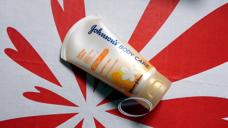 Johnson's Body Care Extra Care Hand Cream lotion 50g ladies skin care