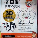 Japan Magic Foot Milky Intense Exfoliating Foot Pad peeling pack skin care mask beauty ladies