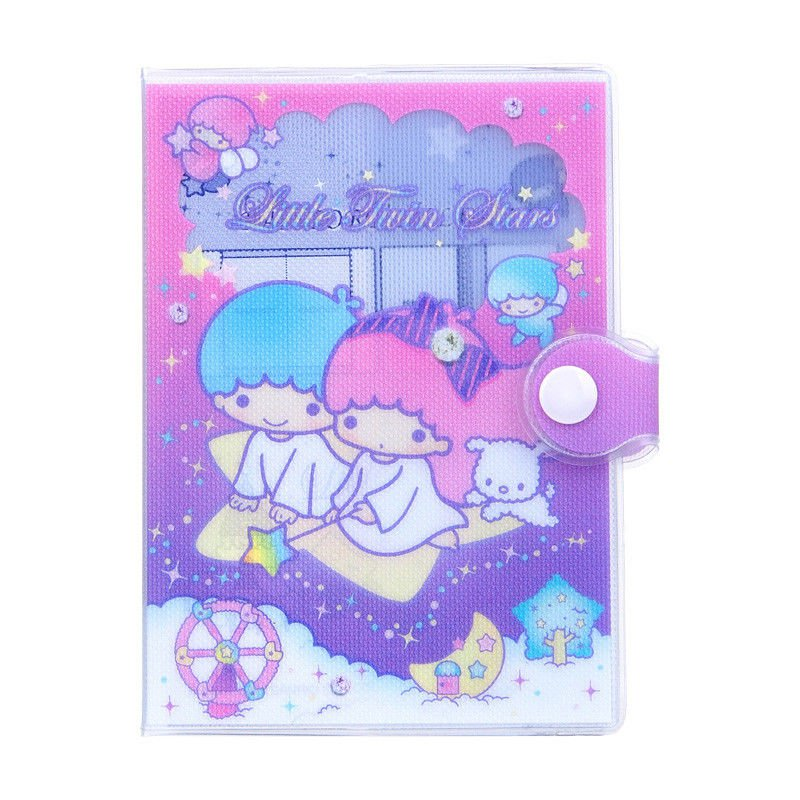 Sanrio Little Twin Stars Passport Holder cover travel accessories Girls P16