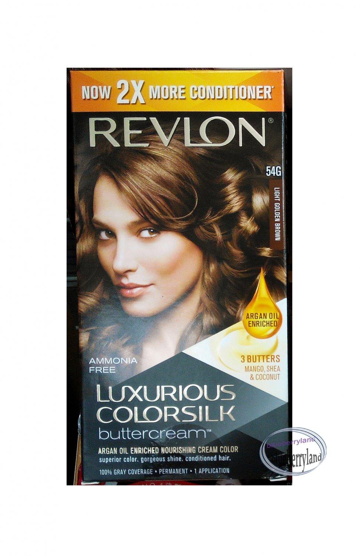Revlon Luxurious Colorsilk Buttercream Light Golden Brown 54g Hair