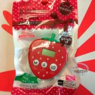 Japan imported Mini 100 Minutes Digital Kitchen Timer Strawberry with Magnet