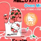 Sanrio HELLO KITTY Oven Mitt for Adult kitchen cooking apple Q6