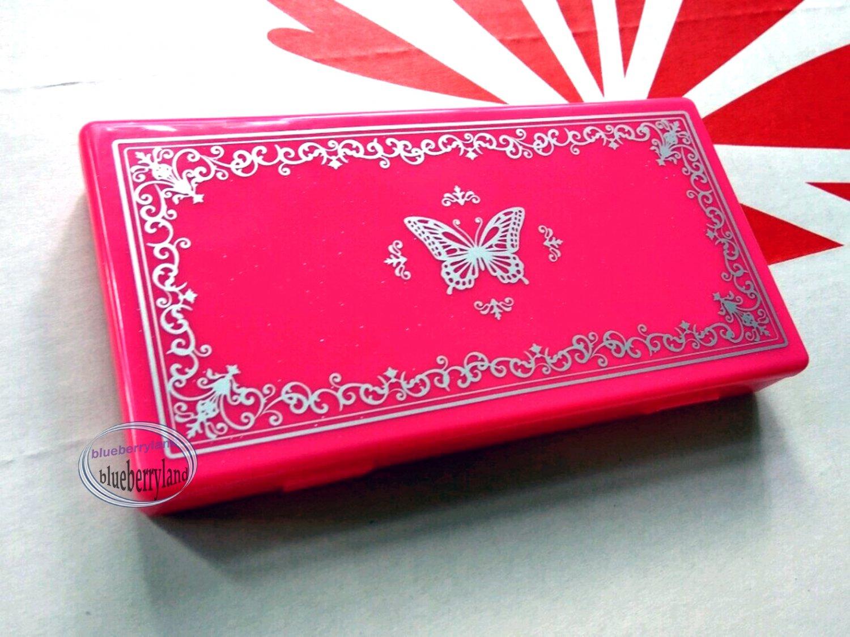 Japan False Eyelash Case Large Hot Pink eye care tool ladies girls