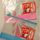 2 x Sanrio Hello Kitty B5 Zip bag Zipper bags pouch
