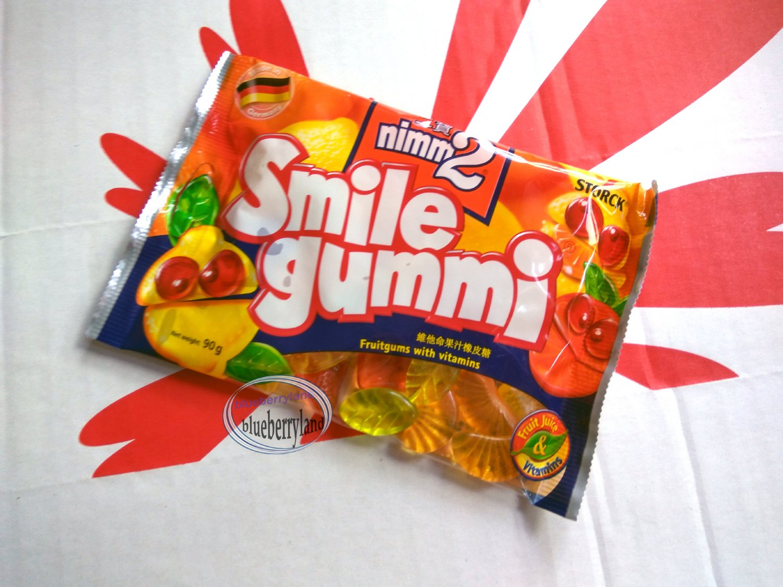 Storck nimm 2 Smile gummi Fruitgums with vitamins 90g kids sweets snacks
