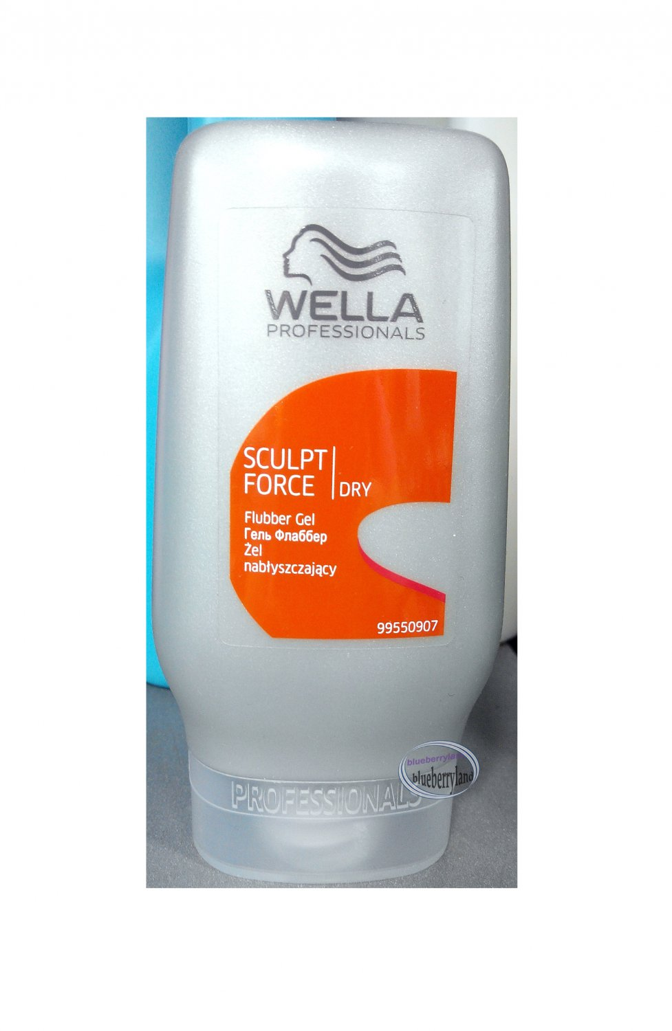 WELLA Professional Hair Sculpt Force Flubber Gel 125ml Dry Strong Hold Level 4