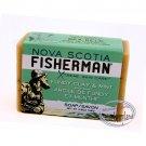 Nova Scotia Fisherman Fundy Clay & Mint Soap Savon Bar 136g + Free Gift (Shower Cap)