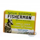 Nova Scotia Fisherman Apple Cider Soap Savon Bar 136g + Free Gift (Shower Cap)