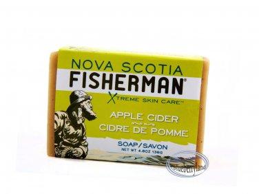 Nova Scotia Fisherman Apple Cider Soap Savon Bar 136g + Free Gift (Shower Cap)