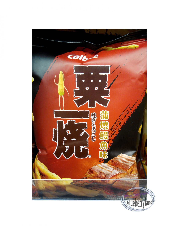 Calbee EEL Flavoured Grill-A-Corn Corn Sticks Snacks TV movie games Snack 2 Bags