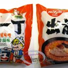 2 Pcs Nissin Noodles Hokkaido Miso Tonkotsu flavor Instant Noodle snacks Demae Ramen