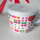 Sanrio Hello Kitty Plastic Cup MUG with Lid Set child girls kids