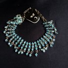 Ladies Beaded Fashion Charm Chunky Bib Costume Necklace women girls