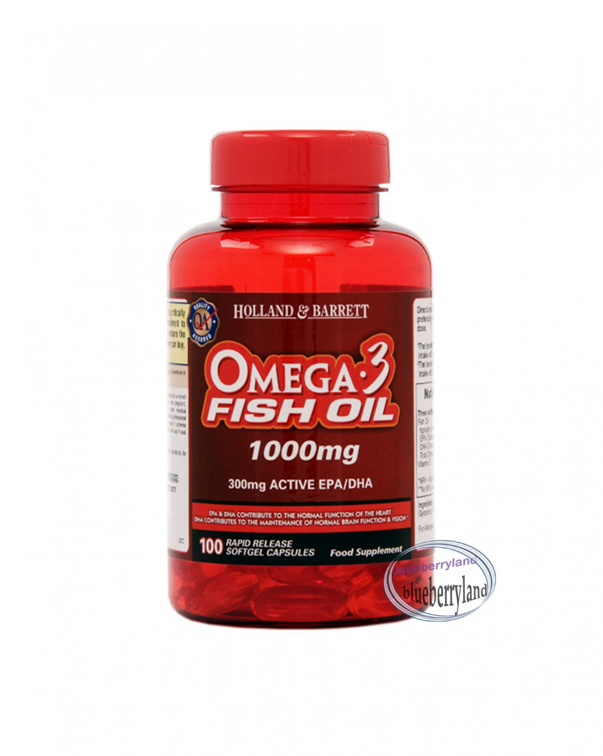 Holland barrett 10 cardiovascular omega 3 fish oil for Fish oil for cooking