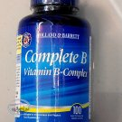 Holland & Barrett Complete B Vitamin B-Complex 100 Capsules food supplement health care