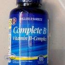 Holland & Barrett Complete B Vitamin B-Complex 100 Capsules food supplement health care