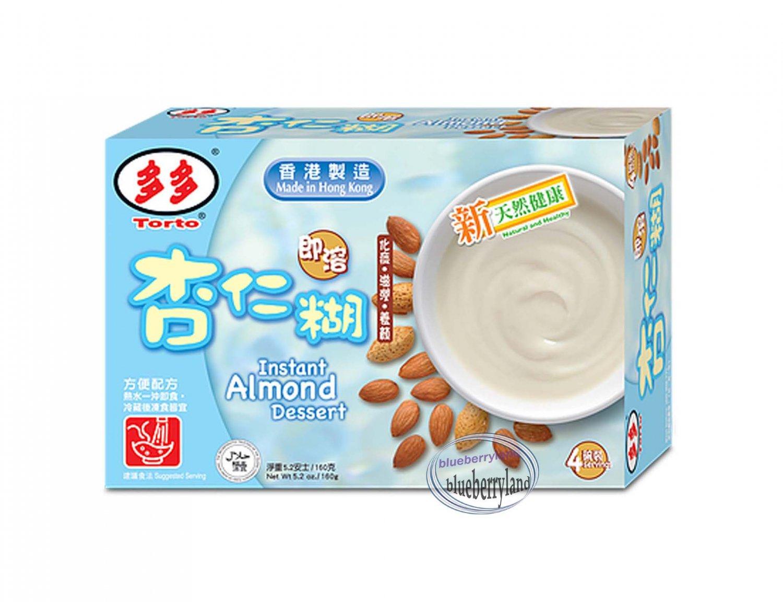 Torto Almond Dessert Powder 4x40g Sweets dessert snacks ladies men foods