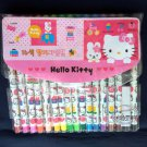 Sanrio Hello Kitty Coloring Marker Pen stationery 16 color