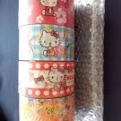 Sanrio Hello Kitty adhesive tape 4 Pcs Set