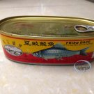 Fried Dace Fish with Salted Black Beans 227g  Canned Fish 豆豉鲮鱼罐头