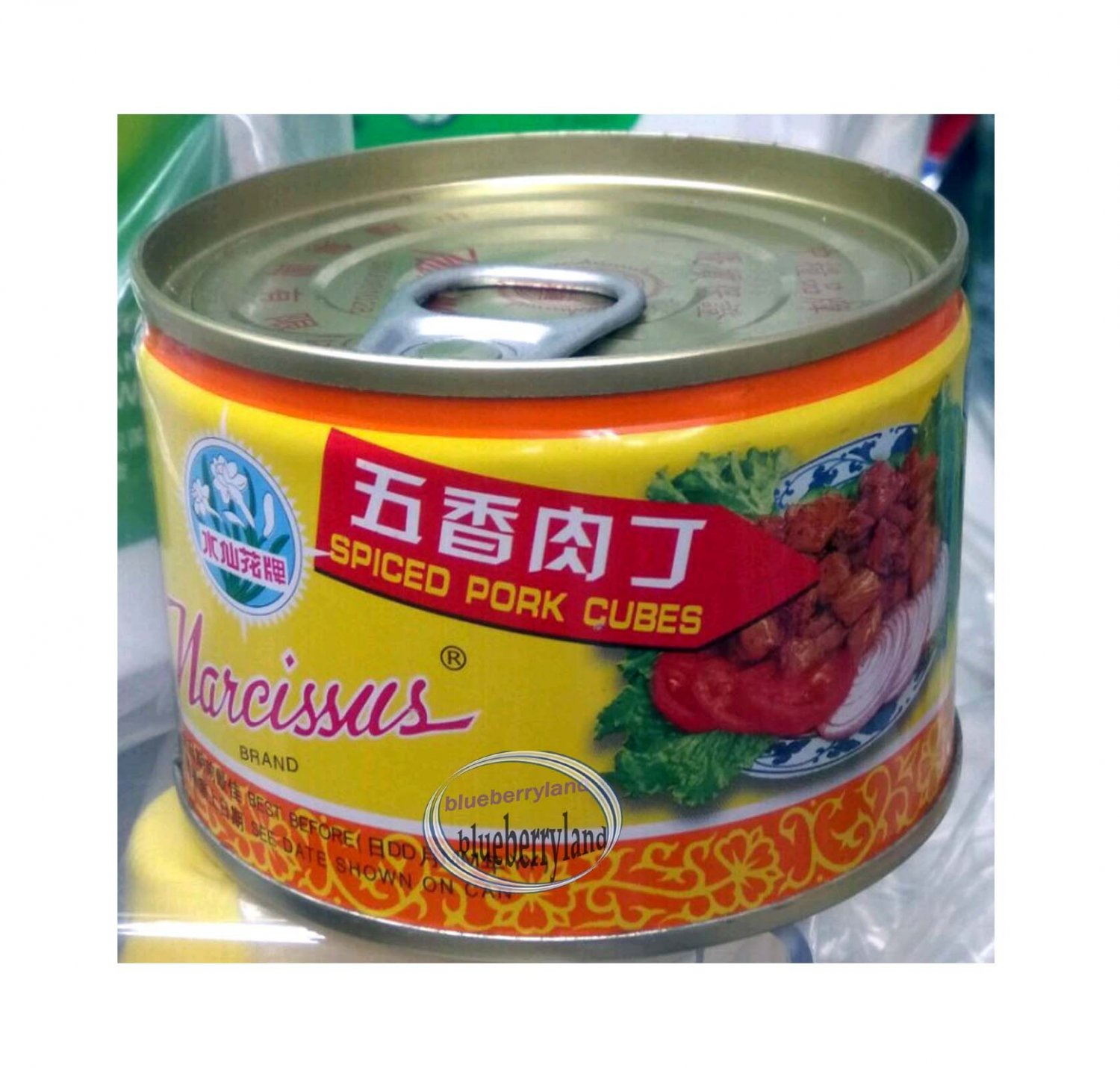 Canned Spiced Pork Cubes 142g Canned Pork Meat ����