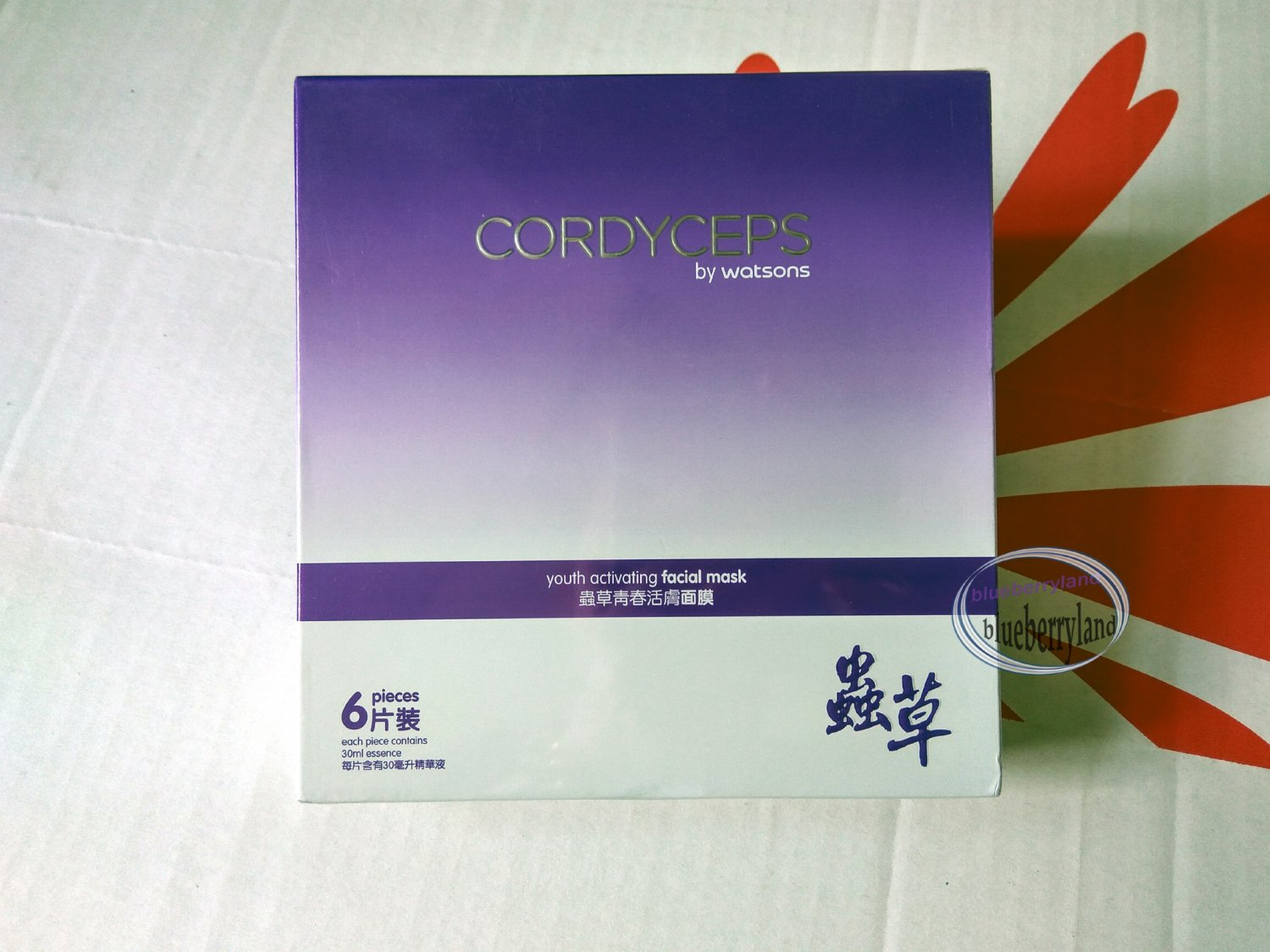Cordyceps by Watsons youth activating facial mask 6 Pcs ladies skin care ����活���