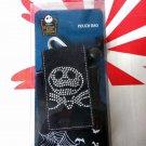 Disney Tim Burton's Nightmare Before Christmas Pouch Bag DC camera Case Bags  +2Pcs Skull Tattoos B