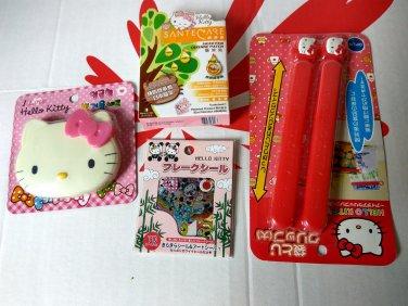 Sanrio HELLO KITTY 4 Pcs Gift Set for Christmas birthday kid girl women I