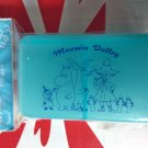 Moomin Pill Case Box holder dispenser keeper organizer with 4 compartments inside