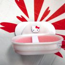 Sanrio Hello Kitty Soap Dish Holder bathroom ladies