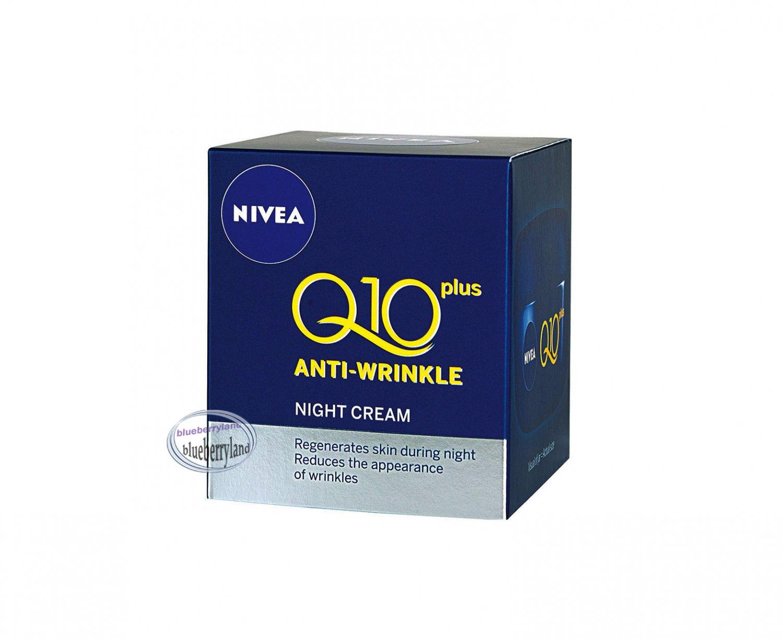 Nivea Q10 Plus Anti-Wrinkle Night Cream Ladies skin care health & beauty