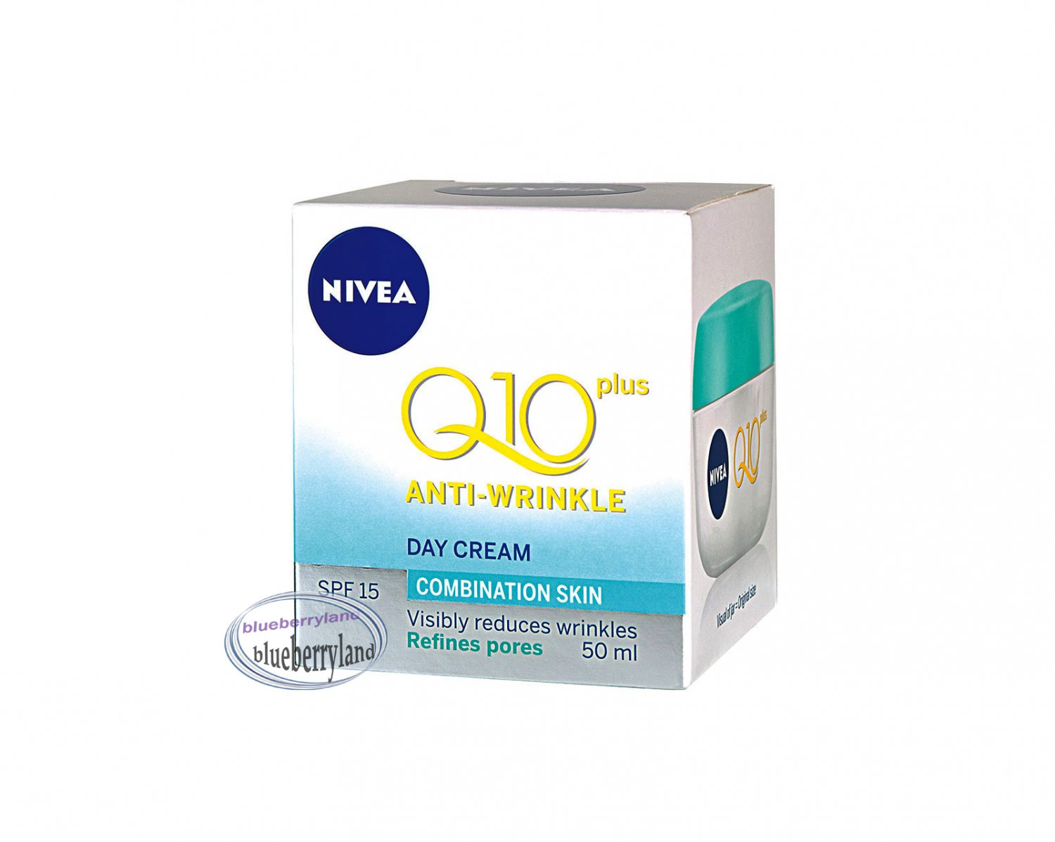 Nivea Q10 Plus Anti-Wrinkle Day Cream SPF 15 refines pores 50ml Ladies skin care health & beauty