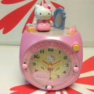 Sanrio Hello Kitty Desktop Alarm Clock with sweet melody Christmas gift Home Decor