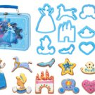 Disney Princess Cookie cutter mold 10pcs mould set cheese ham