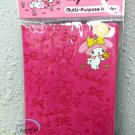 Sanrio My Melody Passport Holder cover travel Q17 Fushia ladies girls