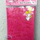 Sanrio My Melody Passport Holder cover travel Q17 Fushia ladies girls
