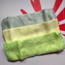 Bamboo Washcloth 3 pieces set square towels