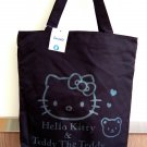 Sanrio Hello Kitty CANVAS TOTE BAG Shoulder Handbag Weekend School BAGs