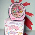 Sanrio My Melody Alarm Clock with LED LIGHT SNOOZE MELODY CHIMES HANDS LUMINOUS girls ladies