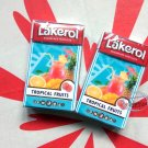 Lakerol Sugarfree Pastilles Tropical Fruits flavor 2x candies