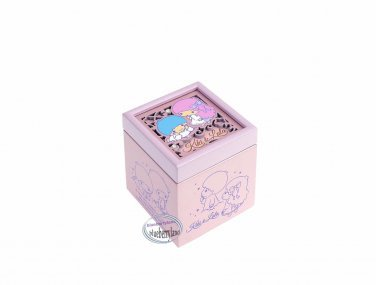 Sanrio Little Twin Stars Wooden Jewellery Musical box music Boxes gift girls ladies Q