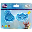 Japan Disney Stitch & Scrump Cookie cutter Stamp mold mould