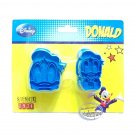 Japan Disney Donald Duck Cookie cutter Stamp mold mould