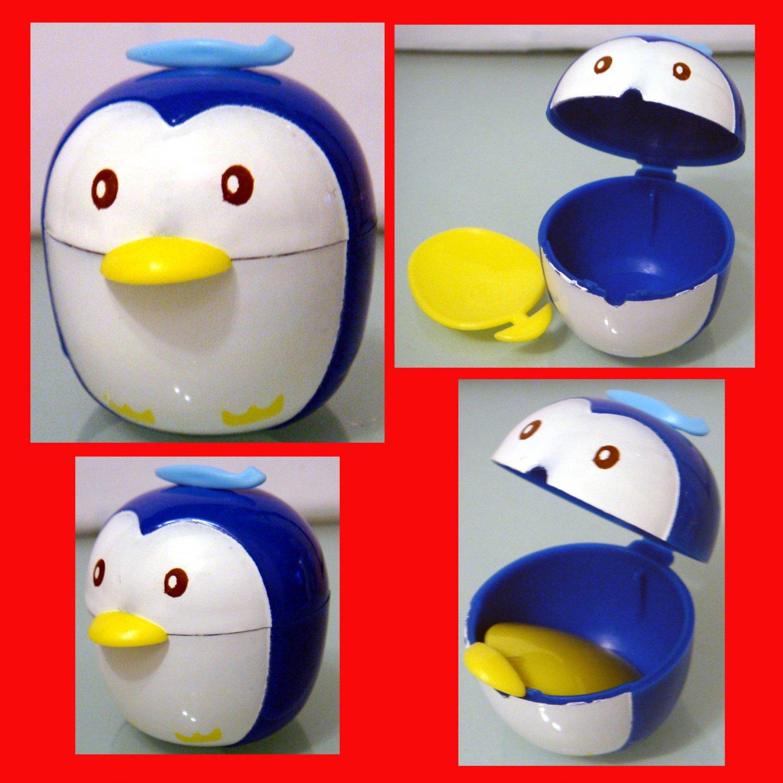 Penguin's Mayo Case Sauce Dressing Case set bento lunch box