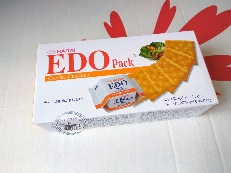 EDO Pack CHEESE Cracker 133g biscuits snacks cookies ladies sweets