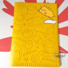 Sanrio Gudetama Passport ID Holder cover travel doc kit Q17 ladies girls boys