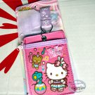 Sanrio HELLO KITTY Lanyard Tag School Work Pass ID tags Holder Q17