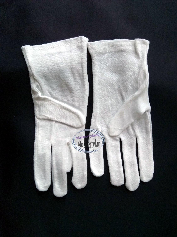 Cotton moisturizing gloves
