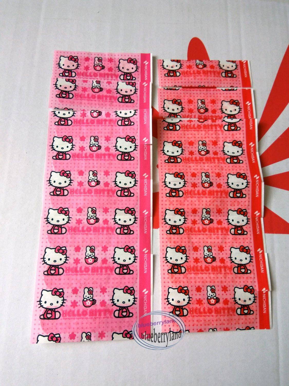 Sanrio Hello Kitty 12 Pcs First Aid Bandage health kids